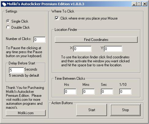 Automate your mouse clicking