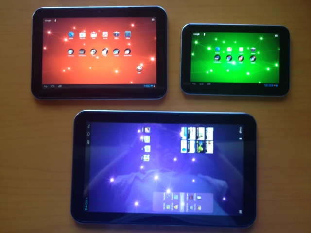 Toshiba Unveils 3 New Excite Android Tablets