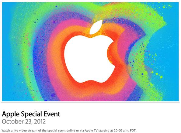 iPad Mini Event Stream and Expectations