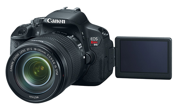 Features and unboxing of the Canon T4i / 650D